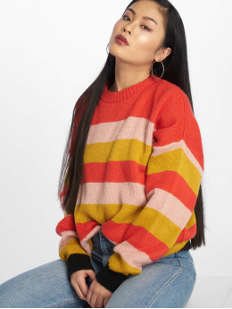 Missguided Trøjer Colourblock Stripe rød