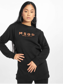 Missguided Trøjer Oversized Crew Neck sort
