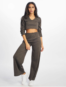 Missguided Trainingspak Missguided Notch grijs