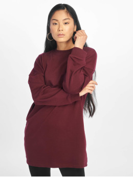 Missguided trui Crew Neck Longline paars