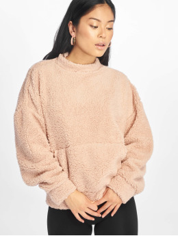Missguided trui Pocket Front rose