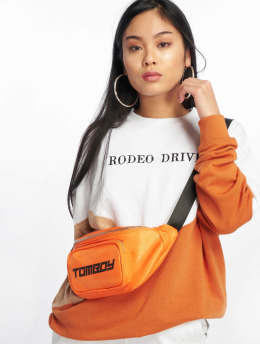 Missguided trui Rodeo Drive Colourblock wit