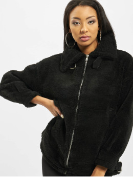 Missguided Übergangsjacke Ultimate Oversized Aviator schwarz