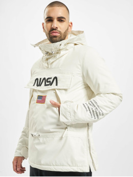 Mister Tee Демисезонная куртка Nasa  белый