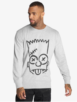 Mister Tee Пуловер Simpsons Graphity серый