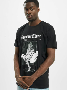 Mister Tee Футболка Brooklyn Times черный