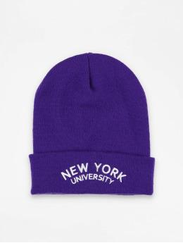 Mister Tee шляпа Nyu пурпурный