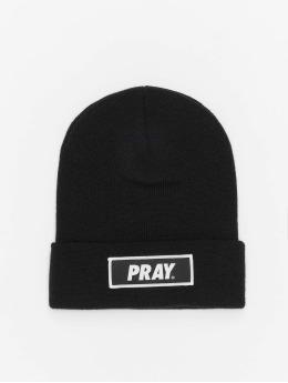 Mister Tee шляпа Pray черный