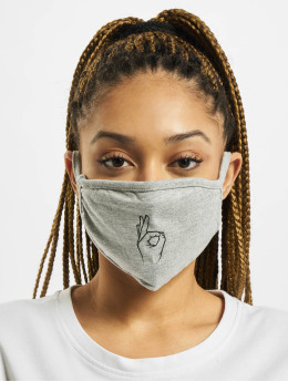 Mister Tee Autres Easy Face Mask gris