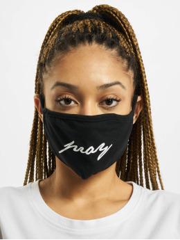 Mister Tee Autres Pray Wording Face Mask noir