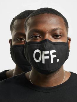 Mister Tee Autres Face Mask Off 2-Pack noir