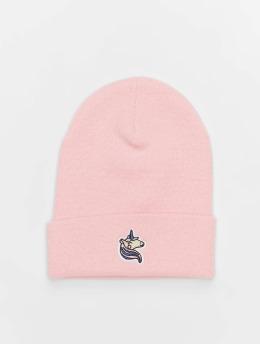 Mister Tee Beanie Unicorn pink