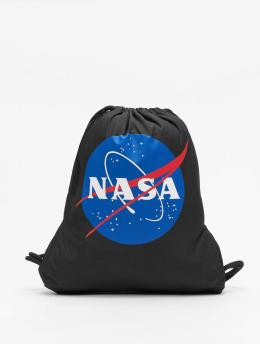 Mister Tee Beutel NASA schwarz