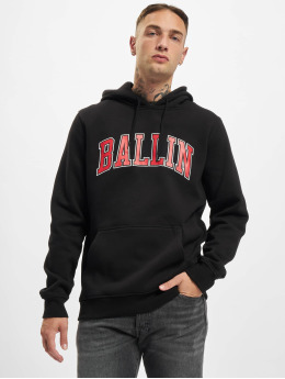 Mister Tee Bluzy z kapturem Ballin 23 czarny