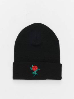 Mister Tee Bonnet Rose noir