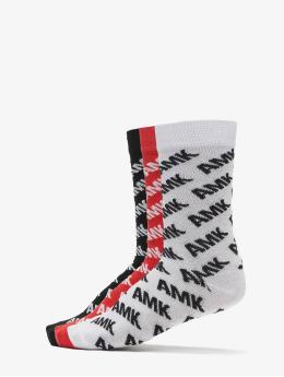 Mister Tee Calcetines Amk Allover Socks 3-Pack negro