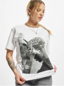 Mister Tee Camiseta Ladies 2pac F*ck The World  blanco