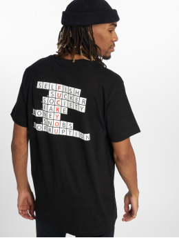 Mister Tee Camiseta Crossword Champ negro