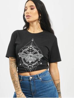 Mister Tee Camiseta Moth negro
