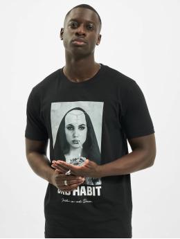 Mister Tee Camiseta Bad Habit negro