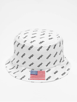 Mister Tee Chapeau Nasa Allover Bucket blanc