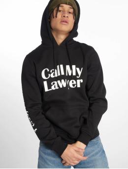 Mister Tee Felpa con cappuccio Call My Lawyer nero