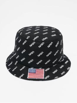 Mister Tee hoed Nasa Allover zwart