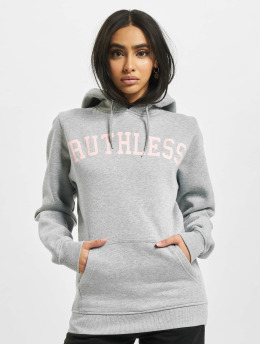 Mister Tee Hoodie Ruthless gray