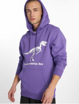 Mister Tee Hoodie T-Rex purple