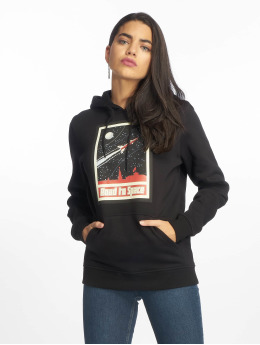 Mister Tee Hoodies Road To Space čern