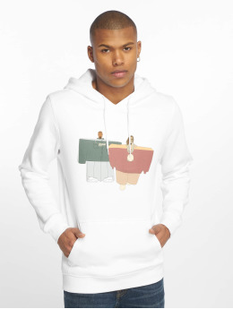 Mister Tee Hoodies Love It bílý
