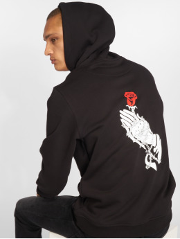 Mister Tee Hoodies Hand Rose sort