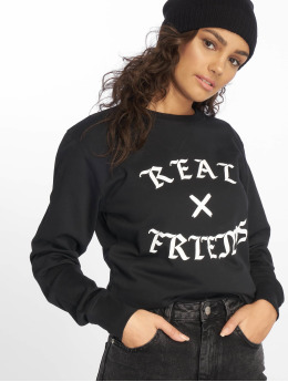 Mister Tee Hoody Real Friends schwarz