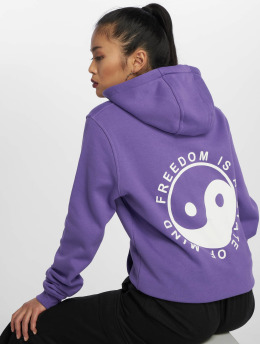 Mister Tee Hoody State Of Mind violet