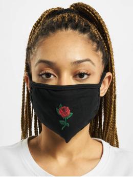 Mister Tee Iné Rose Face Mask èierna
