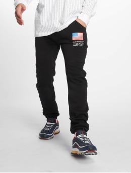 Mister Tee Jogging kalhoty Nasa čern