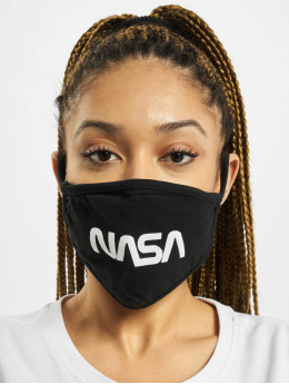 Mister Tee More Nasa Face Mask black