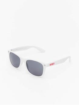 Mister Tee Okulary Nasa Sunglasses bialy