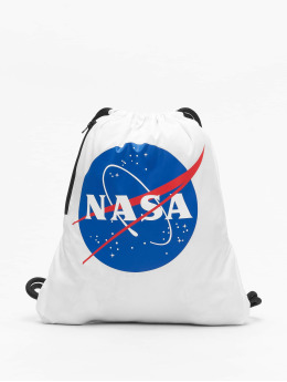 Mister Tee Pouch NASA white