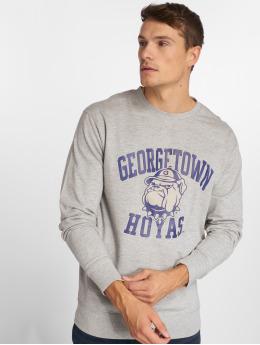 Mister Tee Pullover Mister Tee Georgetown Hoyas Sweatshirt grau