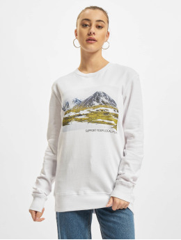 Mister Tee Pullover Local Planet weiß
