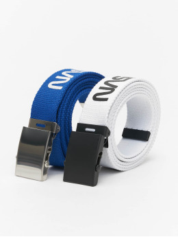 Mister Tee riem NASA Belt 2-Pack Extra Long blauw