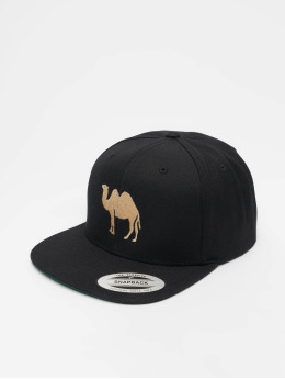 Mister Tee snapback cap Desert Camel zwart