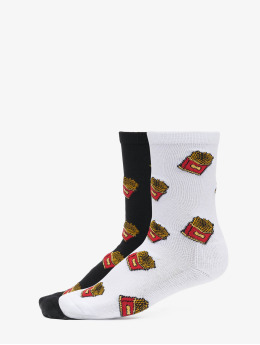 Mister Tee Socken French Fries schwarz
