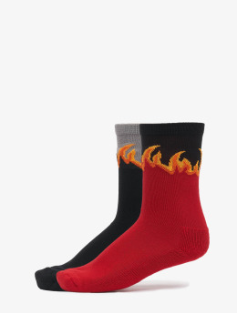 Mister Tee Socks Long Flame red