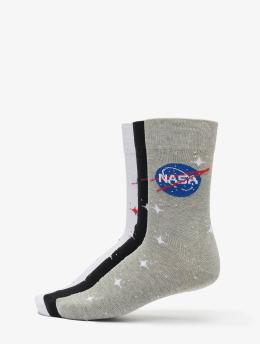 Mister Tee Sukat Nasa Insignia Socks 3-Pack  musta