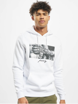Mister Tee Sweat capuche Pray 2.0 blanc