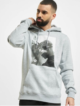 Mister Tee Sweat capuche 2pac F*ck The World gris