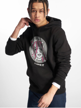 Mister Tee Sweat capuche I Love It noir