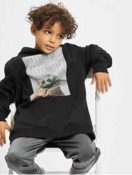 Mister Tee Sweat capuche Kids The Mandalorian The Child Good Side noir